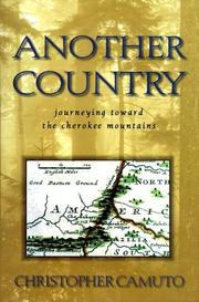 ANOTHER COUNTRY by Christopher Camuto