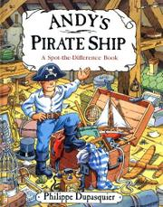 ANDY'S PIRATE SHIP by Philippe Dupasquier
