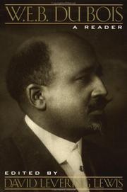 W.E.B. DU BOIS by W.E.B. Du Bois