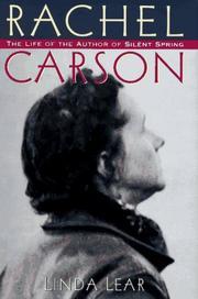 RACHEL CARSON by Linda Lear