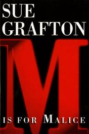 'M' IS FOR MALICE by Sue Grafton