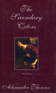 Cover art for THE SECONDARY COLORS