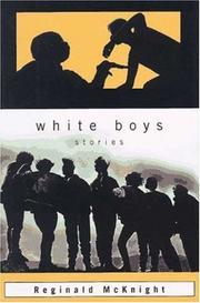 WHITE BOYS by Reginald McKnight