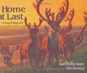 HOME AT LAST by April Pulley Sayre