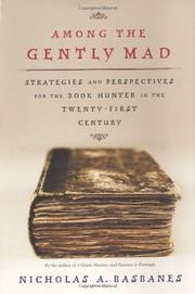 Cover art for AMONG THE GENTLY MAD