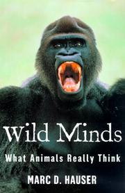 WILD MINDS by Marc Hauser