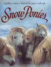 SNOW PONIES by Cynthia Cotten