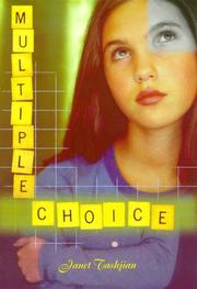 MULTIPLE CHOICE by Janet Tashjian