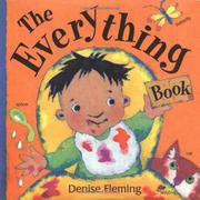 THE EVERYTHING BOOK by Denise Fleming