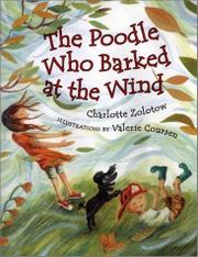 Cover art for THE POODLE WHO BARKED AT THE WIND