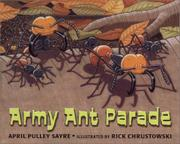Cover art for ARMY ANT PARADE