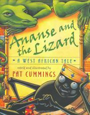 Cover art for ANANSE AND THE LIZARD