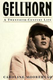 Cover art for GELLHORN