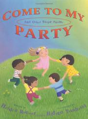 COME TO MY PARTY by Heidi B. Roemer