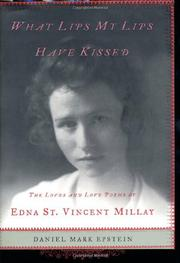 Book Cover for WHAT LIPS MY LIPS HAVE KISSED