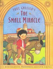 PAUL GALLICO'S THE SMALL MIRACLE by Bob Barton