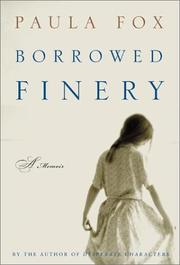 Book Cover for BORROWED FINERY