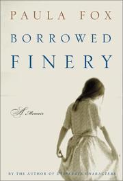 BORROWED FINERY by Paula Fox