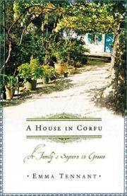 Cover art for A HOUSE IN CORFU