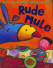 RUDE MULE by Pamela Duncan Edwards