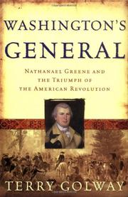 Book Cover for WASHINGTON'S GENERAL