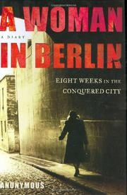 A WOMAN IN BERLIN by Anonymous