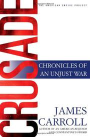 CRUSADE by James Carroll