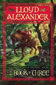 THE BOOK OF THREE by Lloyd Alexander