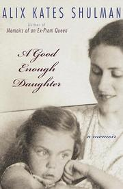 Book Cover for A GOOD ENOUGH DAUGHTER
