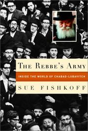 Cover art for THE REBBE'S ARMY