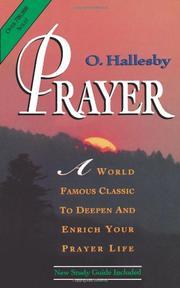PRAYER by Olaf Hallesby