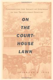 Cover art for ON THE COURTHOUSE LAWN
