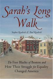 Cover art for SARAH'S LONG WALK
