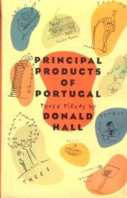 PRINCIPAL PRODUCTS OF PORTUGAL by Donald Hall