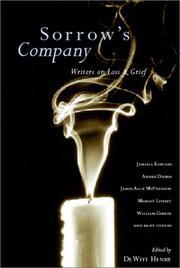 SORROW'S COMPANY by DeWitt Henry