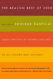 THE BEACON BEST OF 2000 by Edwidge Danticat