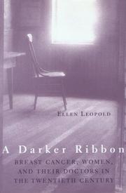 A DARKER RIBBON by Ellen Leopold