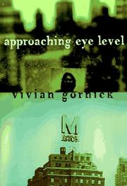 Cover art for APPROACHING EYE LEVEL