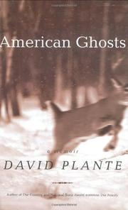 AMERICAN GHOSTS by David Plante
