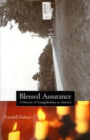 BLESSED ASSURANCE by Randall Balmer