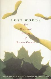 Book Cover for LOST WOODS