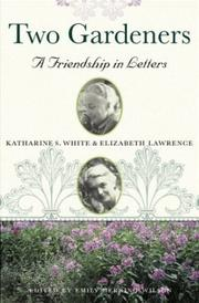 TWO GARDENERS by Katharine S. White