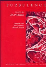 TURBULENCE by Jia Pingwa