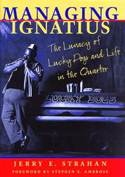 MANAGING IGNATIUS by Jerry E. Strahan