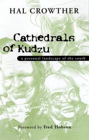 CATHEDRALS OF KUDZU by Hal Crowther