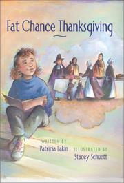 FAT CHANCE THANKSGIVING by Patricia Lakin