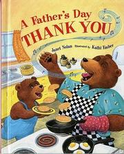 A FATHER'S DAY THANK YOU by Janet Nolan