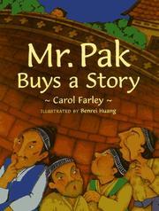 MR. PAK BUYS A STORY by Carol Farley