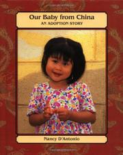 OUR BABY FROM CHINA by Nancy D'Antonio