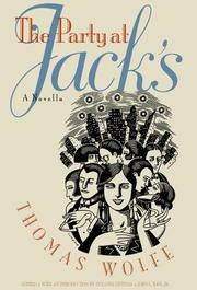 THE PARTY AT JACK'S by Thomas Wolfe